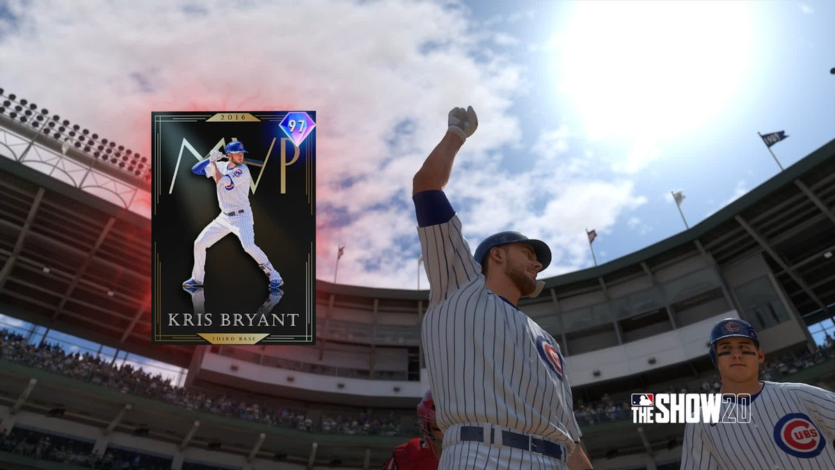 REVEAL: Headliners Set 32 - Awards Kris Bryant OUT NOW! Get MLB The Show 20 Today: Play.st/MLBTS20 #TheShow20 #WelcomeToTheShow #TheShow #MLBTheShow20 #MLBTheShow