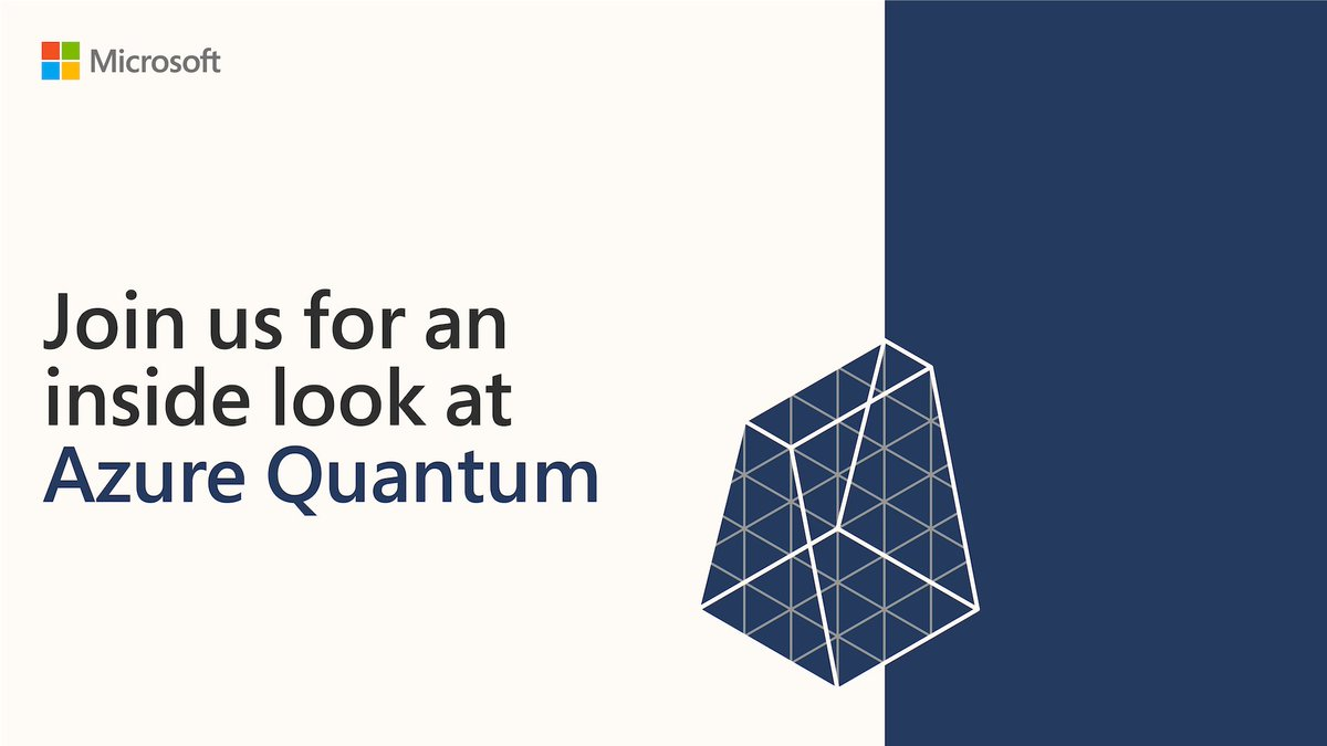 Do you want to take the first steps to becoming a quantum developer?  Sign up for the Azure Quantum Developer Workshop: https://t.co/ynSu1AEpLJ https://t.co/eznUP8SrvI