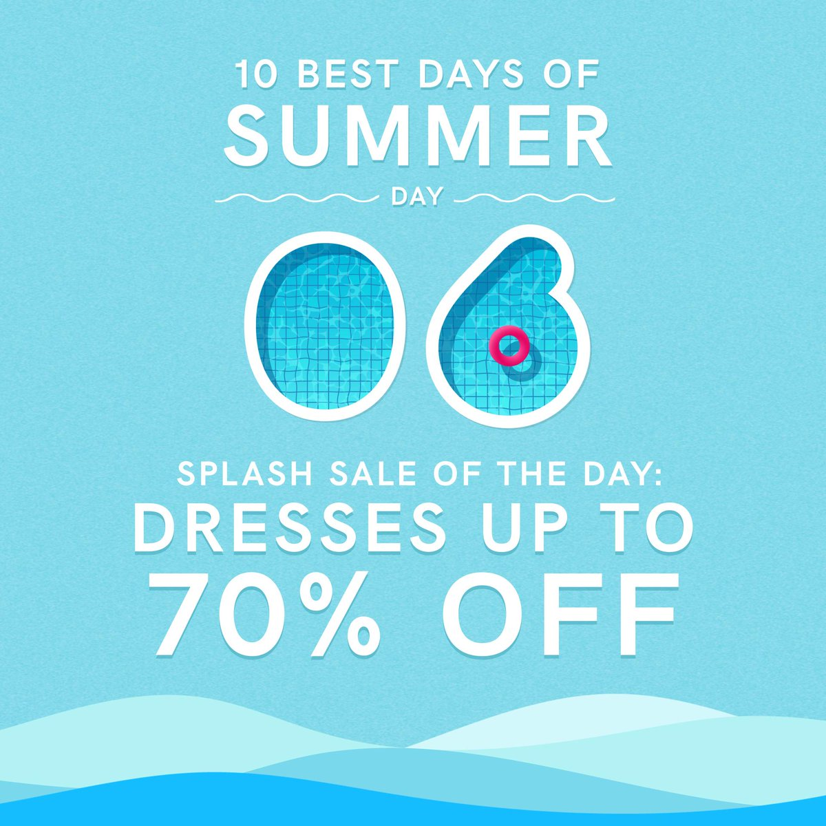 Save up to 70% on dresses for every occasion during our 10 Best Days of Summer event!  Shop Dresses: https://t.co/zM7m3PdQXc~ https://t.co/Liz4VRSFhn
