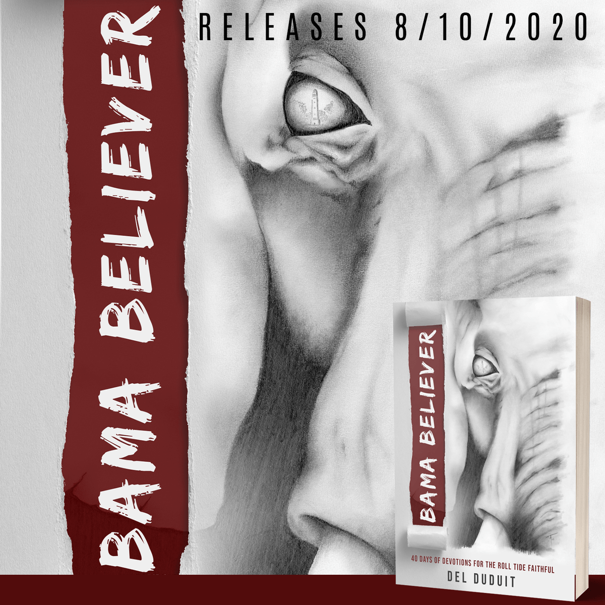Hey #Alabama Football Fans! #RollTide #New Release | Available August 10, 2020  This forty-day devotional from @delduduit will have fans cheering as each chapter relives key football moments. https://t.co/yOe9c04WNW https://t.co/XVij6Lng5E