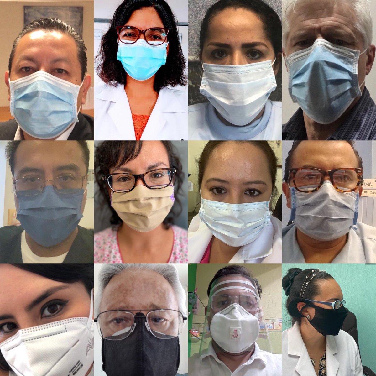 Especialistas en Infectología de Guanajuato te pedimos que uses cubrebocas, ayúdanos a controlar la pandemia de #COVID19 Dale RT y sube tu foto, normalicemos el uso de cubrebocas!!! #UsaCubrebocas #WearMasks https://t.co/OFDETNof1J
