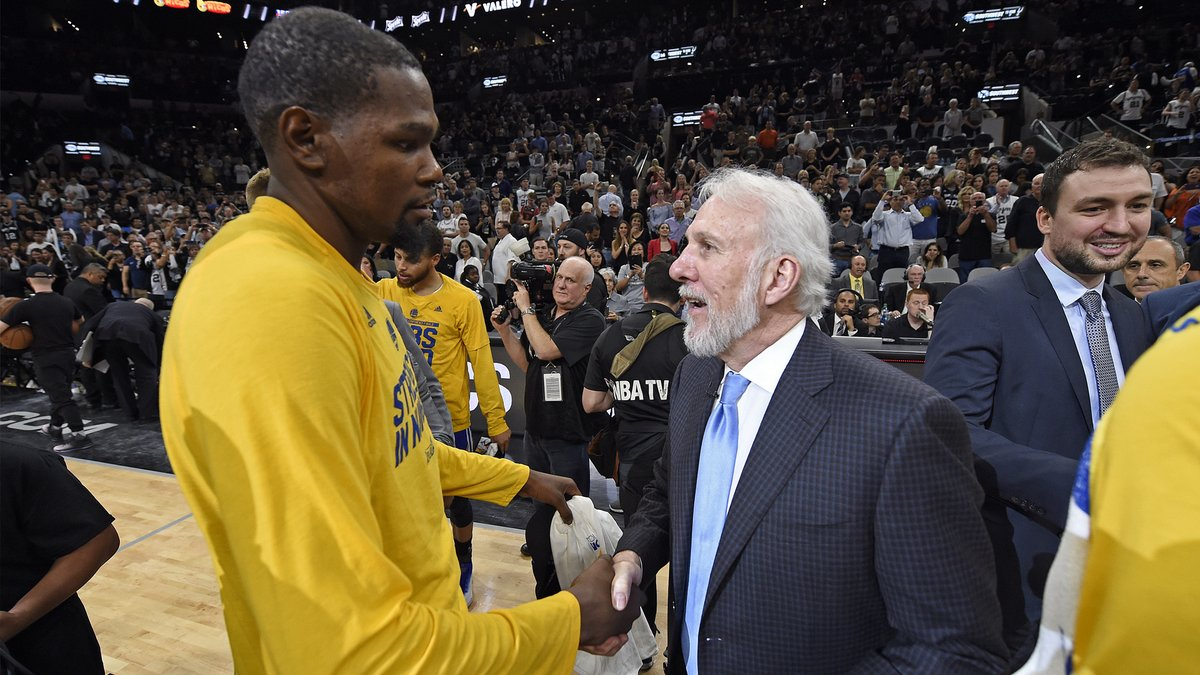 Pop coaching KD in Brooklyn? Nets GM Sean Marks poured cold water on a wild NBA rumor  https://t.co/uRe6hgV5aE https://t.co/qMPny0iQr9