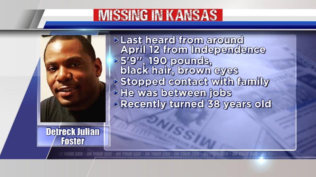 Please, RT. A southeast Kansas man was last seen nearly 3 months ago. Lets help friends & family find Detreck Julian Foster. He has 2 girls who miss him dearly. bit.ly/3gIDIif #MissingInKS #KAKENews