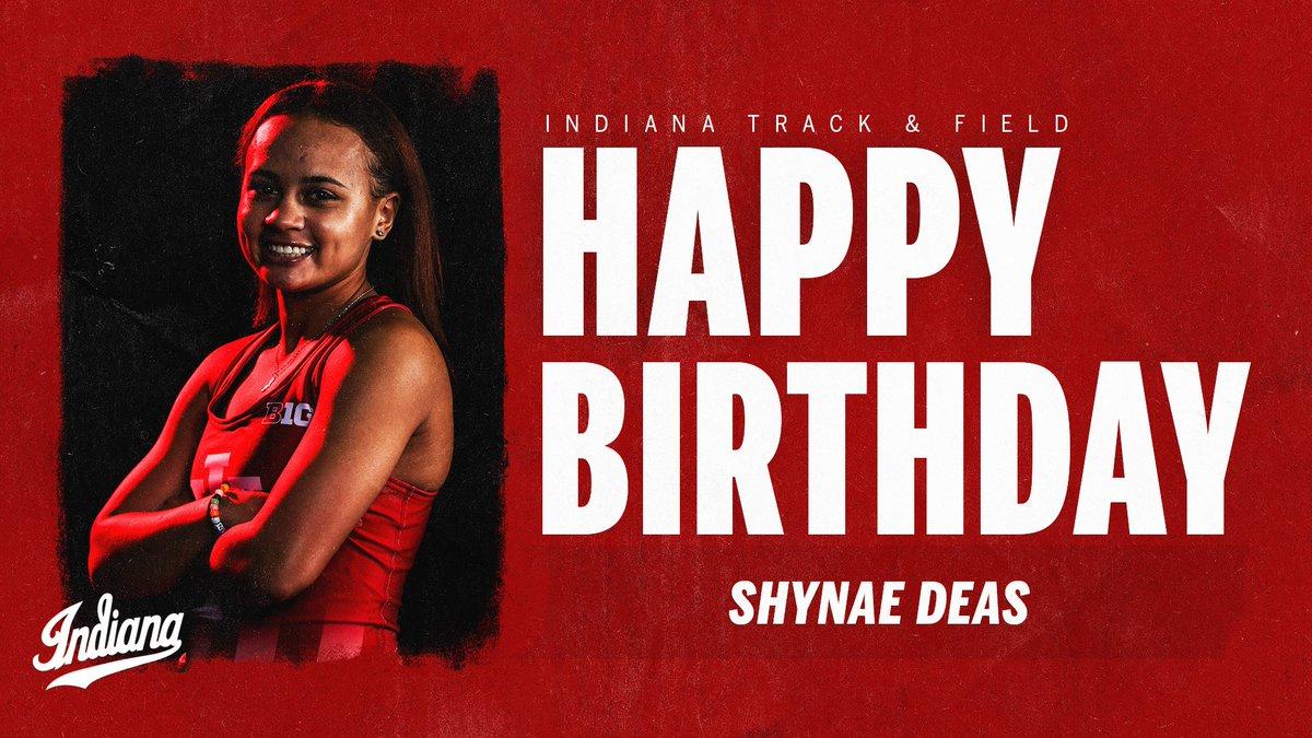 🎉 Sending birthday wishes to Shynae Deas! Enjoy your day!  #IUTF | #GoIU ⚪️🔴 https://t.co/s2woSHLCiF