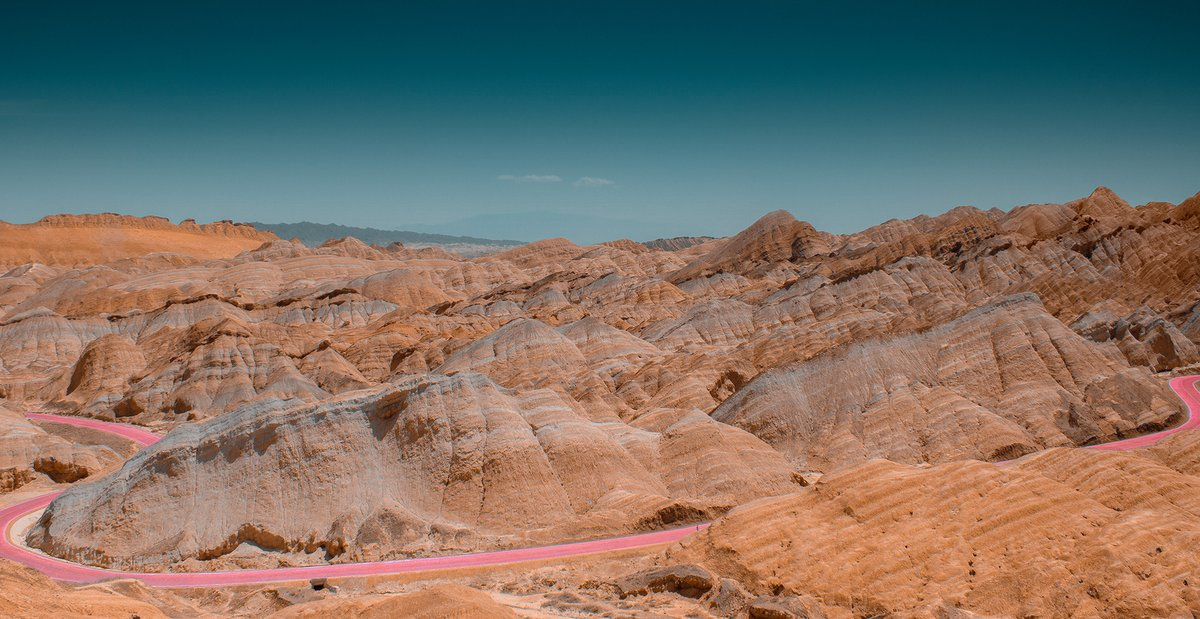 RT @curiouszed: Colorful mountains in China by Jonas Daley https://t.co/LuXmkINVJ8 #photography https://t.co/n04b2wYiGO