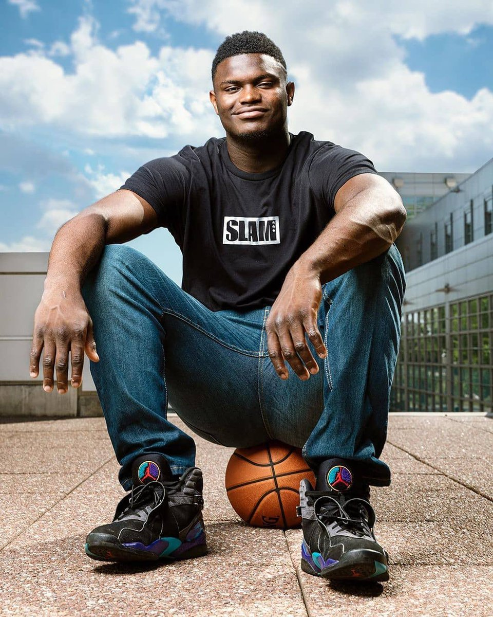 The future belongs to you, @Zionwilliamson. Happy 20th.