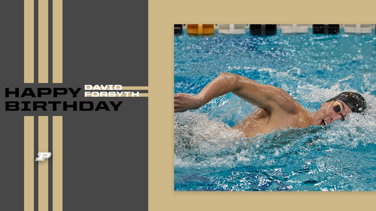 🎁 Happy Birthday to David Forsyth. Glad you're a Boilermaker. Enjoy your big day. #BoilerUp 🎂🎉 https://t.co/c31ykMGogN