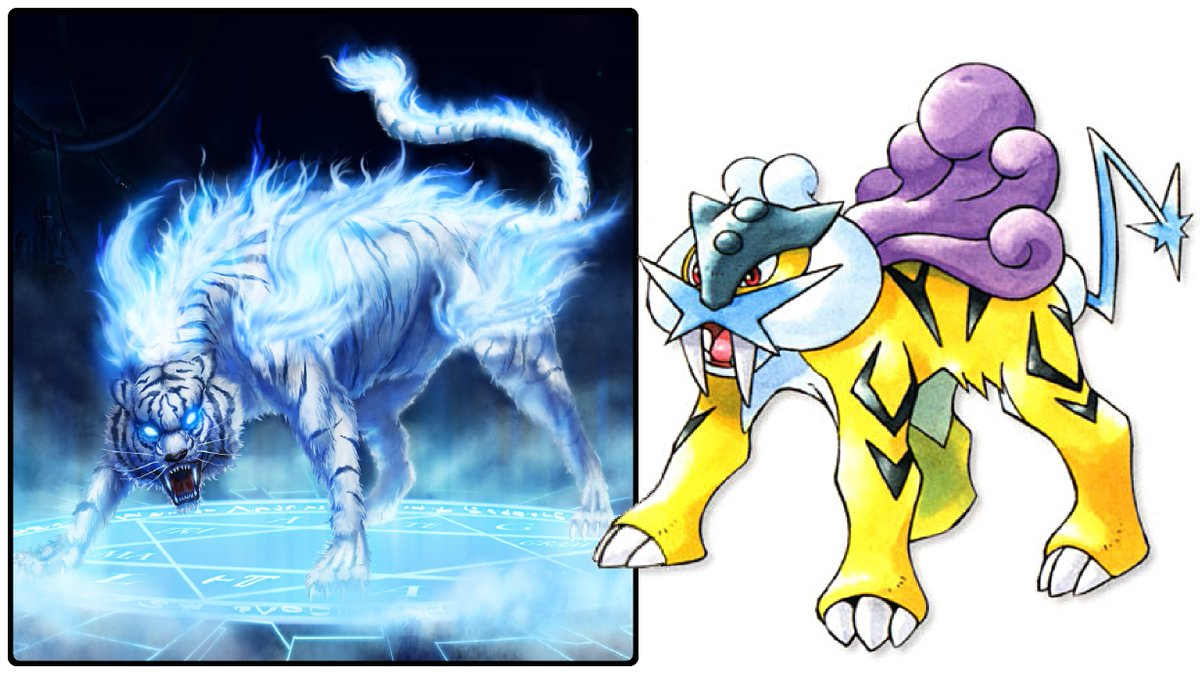 Dr Lava S Lost Pokemon Ar Twitter Raikou Origins Raikou Draws Inspiration From Japanese Mythology S Thunder Beast Raiju In Addition To Its Tiger Form Raiju Can Also Appear As A Blue Wolf With the pokémon sword & shield expansion pass, new areas were added in which included. thunder beast raiju