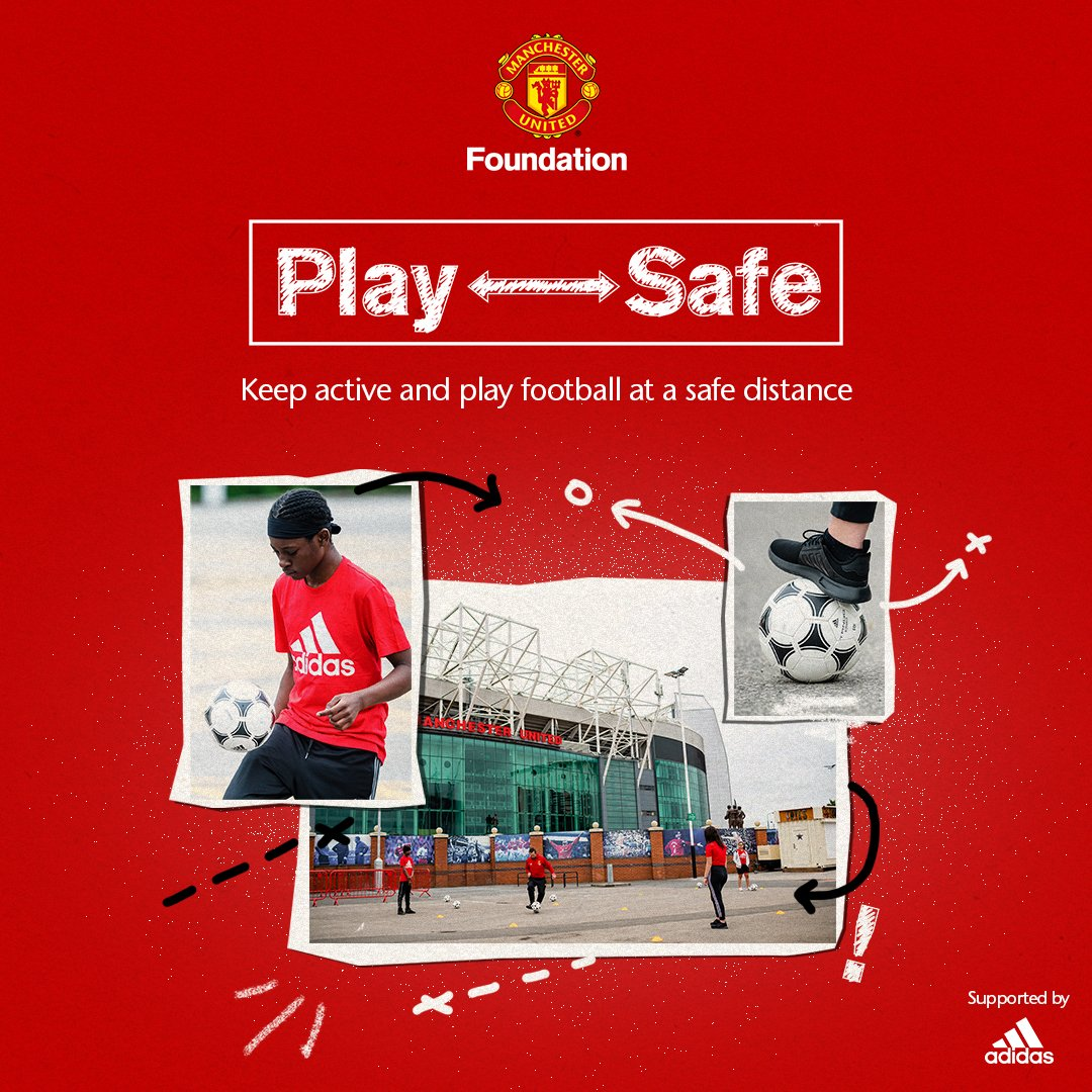Play Safe provides coaches, teachers and young people the tools to play football again at a safe distance ↔️  Visit https://t.co/2ce49qGZwr to download the coaching guides and get involved ⚽🔴 https://t.co/fIG1FMv3cL