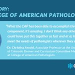 Image for the Tweet beginning: When @Pathologists members were asked