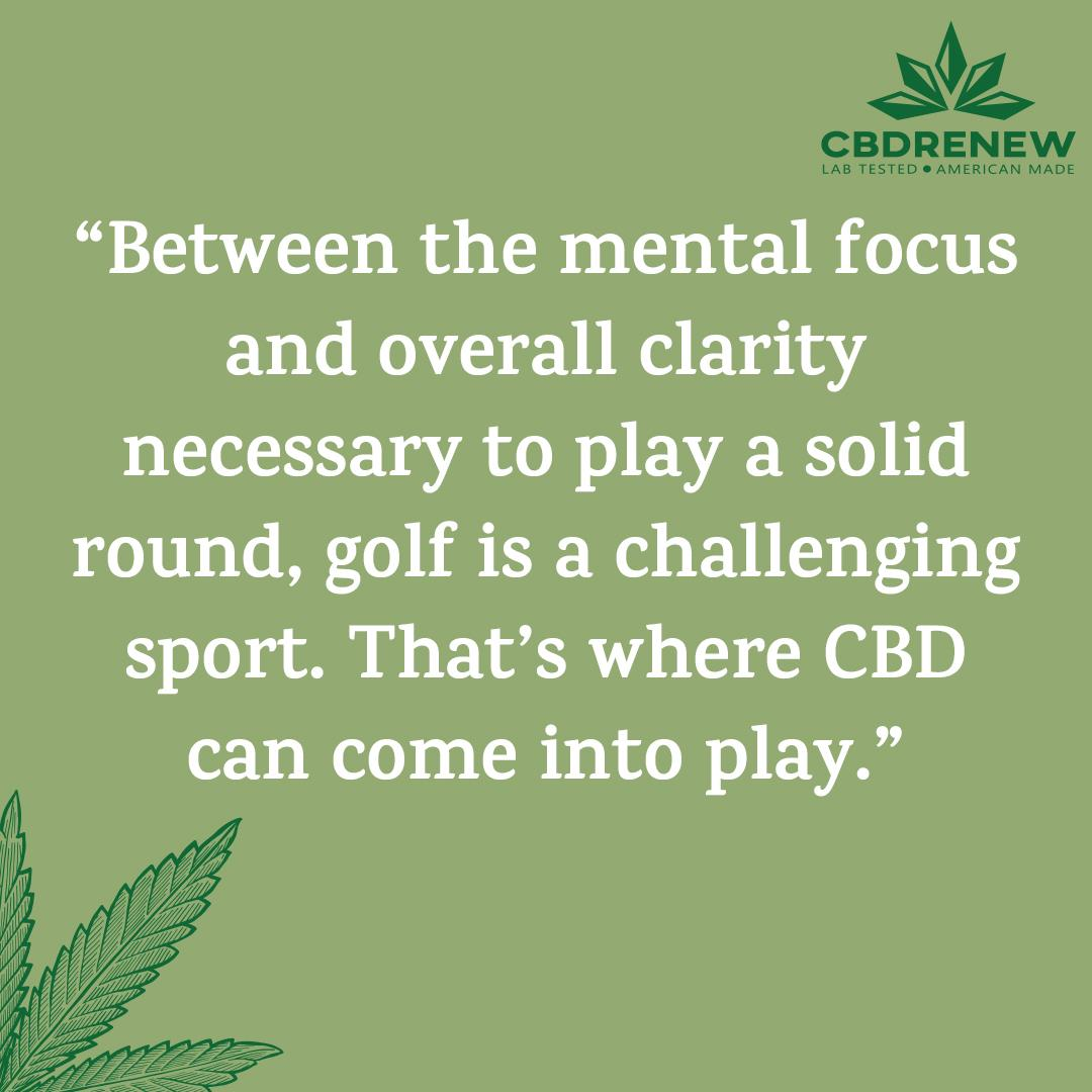 """Between the mental focus and overall clarity necessary to play a solid round, golf is a challenging sport. That's where CBD can come into play.""  Read more about #CBD here: https://bit.ly/2NITg8Y    #cbd #cbdoil #CBDlife #cbdcures #cbdlove #cbdheals #CBDhealth #cbdediblespic.twitter.com/XVcJ207o1L"