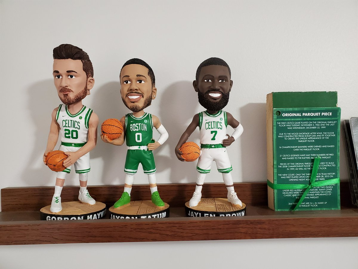 Bobbleheads are always a good keepsake and one that we know many of you have. Find your favorite, take a photo and tag us.  Extra kudos if you post a video ☘️ https://t.co/qiHot2tz70