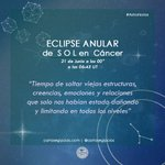 Image for the Tweet beginning: #AstroNotas | Influencias del último
