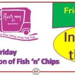 Image for the Tweet beginning: Order your fish and chip