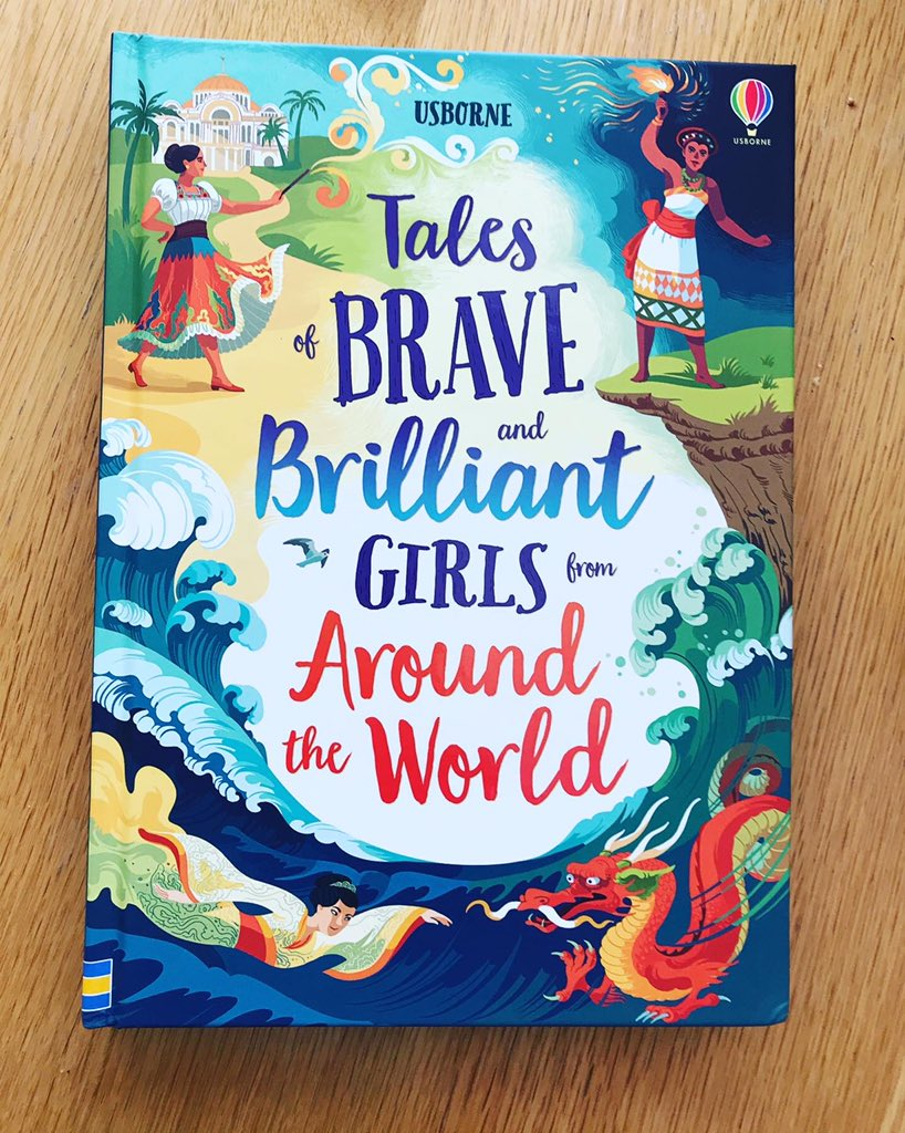 Advance copy arrived today. SO GORGEOUS @Usborne ! #diversebooks #booksfordiversity #diversityandinclusion #folktales #fairytales pic.twitter.com/OGvIHJCuYf
