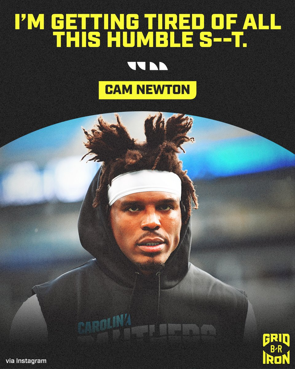 Cam putting the world on notice 😤 @brgridiron https://t.co/c5foPcWhzW