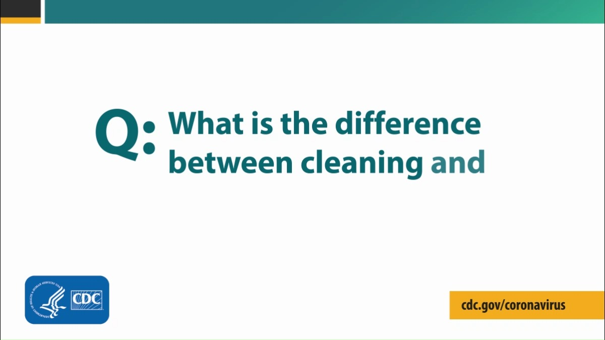 CDC recommends using an EPA-registered household disinfectant to protect against the virus that causes #COVID19. Visit the @EPA's website for a list of products that meet EPAs criteria for use against the virus. See list: bit.ly/2UhNL3R