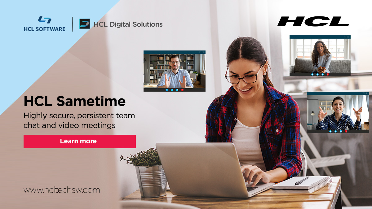 What's different with #HCLSametime since we started?   ...through our collaboration on open-source projects and our innovation, we are investing in the future of how people work with the new capabilities of #HCLSametime v11.5. https://t.co/mBAUgl48gH