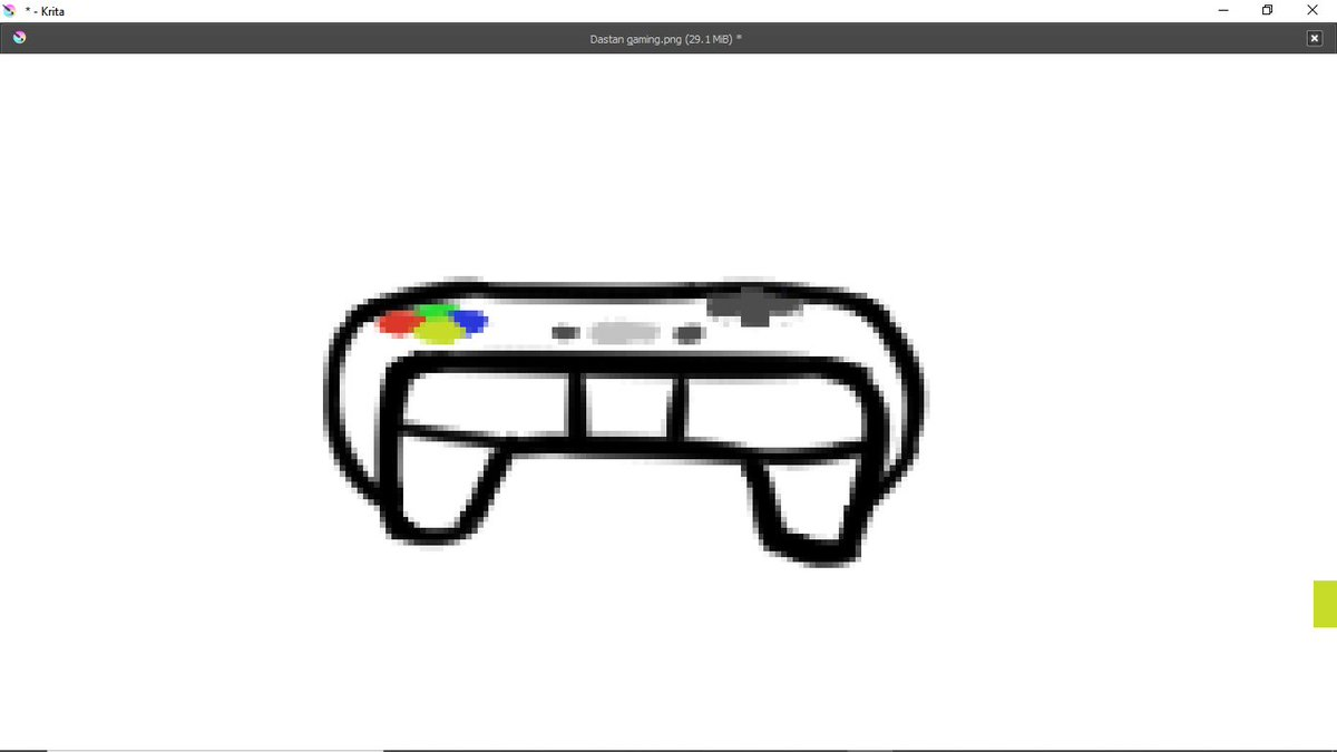 So I'm drawing a controller as part of an artwork and it looks pretty clean.<br>http://pic.twitter.com/b4k0s3ewMo