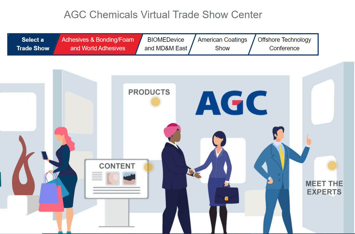 Check out our Virtual Trade Show Booth! We have created a virtual trade show space to give you access to information we would have provided at this year's cancelled events. Visit here: https://t.co/Xk084qtupp #fluoropolymers #fluoroelastomers #coatings #cleaningsolvents https://t.co/EyvpAAlMFS