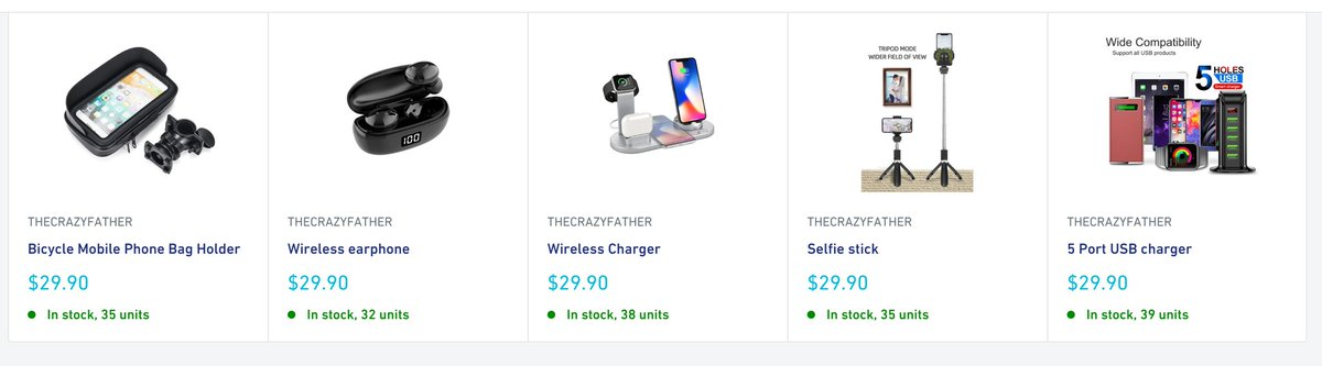 I think I find great fun from choosing great electricity products in amount of products. And I even cant believe you can buy such great products on just $29.9. http://thecrazyfather.com, try it. #shopify #ECommerceShop #ecommercebusiness pic.twitter.com/5aA530PDmt