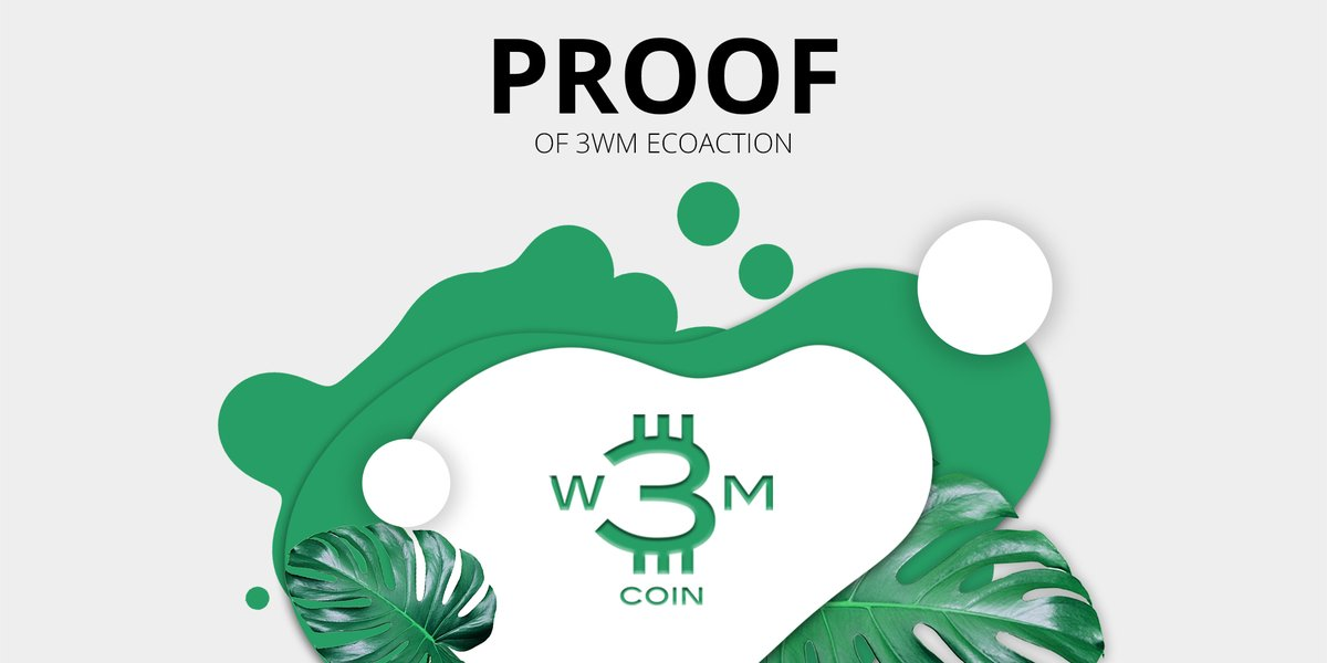 The Proof of 3WM #EcoAction is a community program rewarding ecological contributions, that will protect or enhance the natural #environment resources and build the capacity of our community to sustain these activities into the future.  ⠀ #wastetoenergy #waterforeveryone https://t.co/BlNdNCd4WA