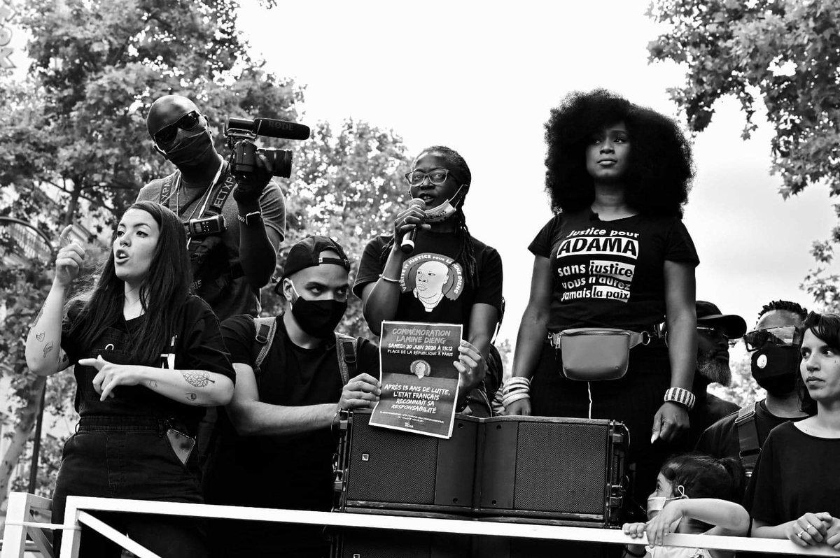La marche @laveritepradama sera accessible en #LSF. RDV le 18 juillet à partir de 12h00 devant la mairie de Persan.  @Erremsi_Music à la captation @ElodiaSedgwick x @Zoubida_Eve à l'interprétation   📷 https://t.co/xQHIu7mKnK https://t.co/SdqHqI9J82