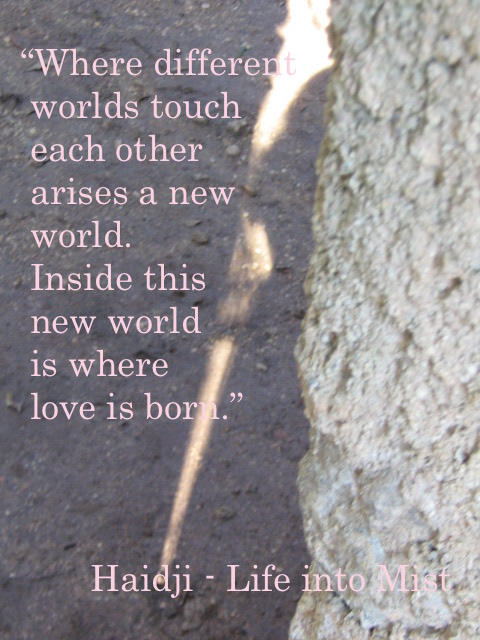 """""""Where different worlds touch each other arises a new world. Inside this new world is where love is born."""" #books click on https://www.amazon.com/dp/B00QGTGH7Y/ref=as_sl_pc_tf_til?tag=haid0a-20&linkCode=w00&linkId=a4466d188a5e2e3721f465cba77908c7&creativeASIN=B00QGTGH7Y… #quoteoftheday #dailyquote #reading #books #haidji #kindleunlimited #bookquotes #bookquote #goodreads #readers #amazonbooks #bookpic.twitter.com/jMTQuzj6zY"""