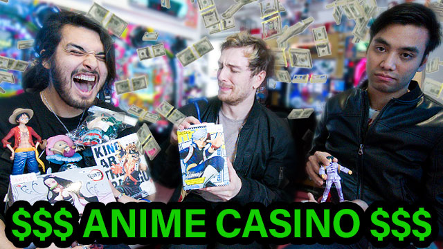 Imagine a regular casino. Now imagine a casino in the heart of Akihabara where instead of money, you can win a mountain of anime figures, plushies and other otaku merch.  Me, @GiggukAZ and @CDawgVA went there today, and it was absolutely epic.  https://t.co/xUhjDZZYWb https://t.co/D0oSjrsHZR