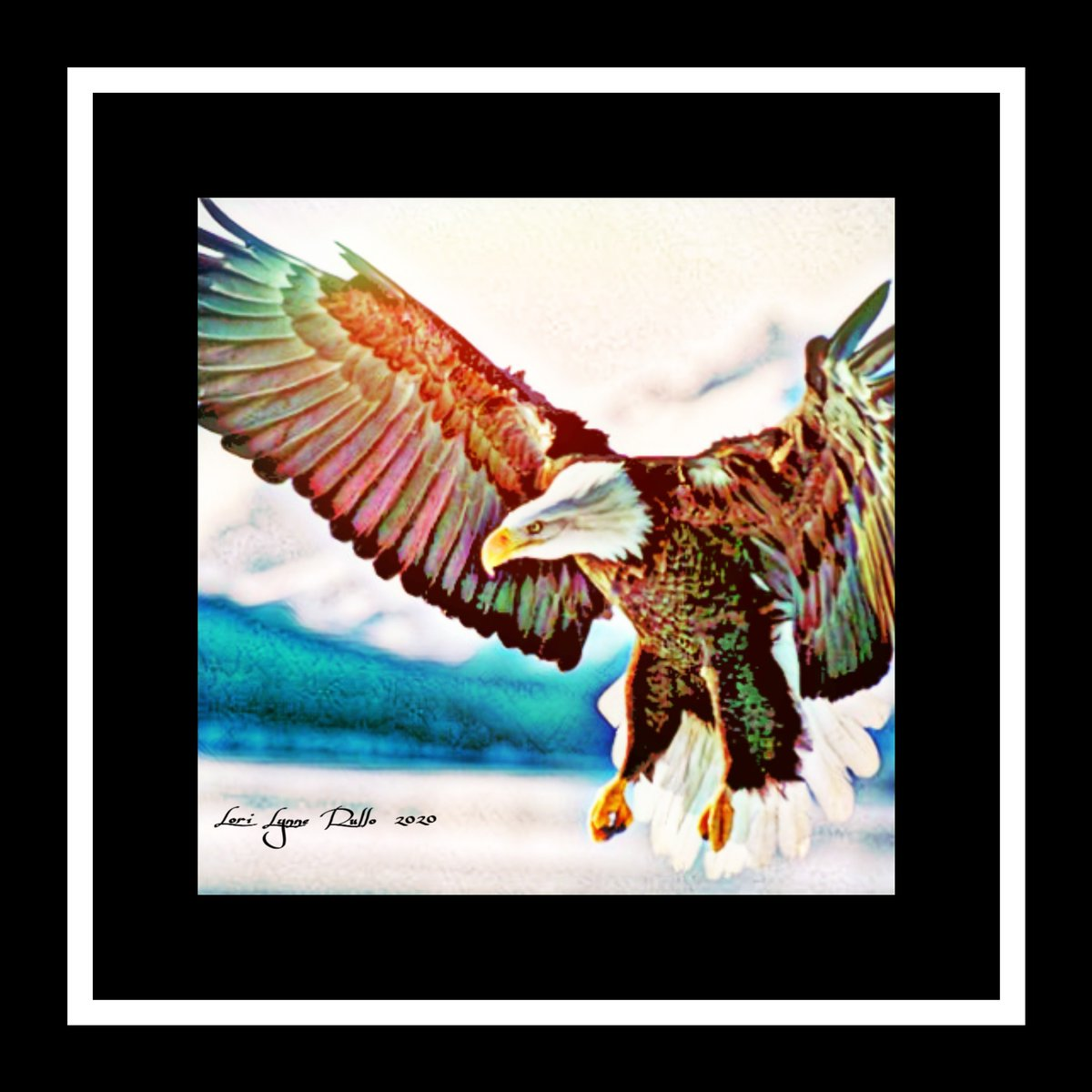 Those who hope in the LORD will renew their strength. They will soar on wings like eagles; they will run and not grow weary, they will walk and not be faint.  (Isaiah 40:31)  I give oath to my country. #ArtForGodsGlory #ChristianArtist #GodInNature #TakeTheOath https://t.co/LGW7CecIaT