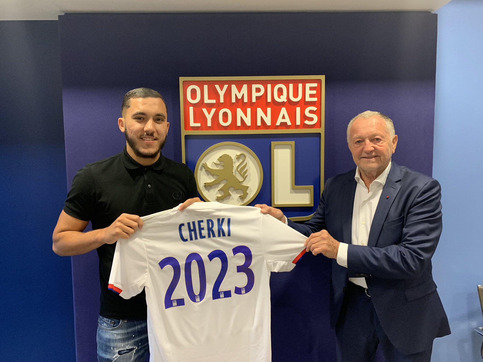 Cherki prolonge avec Lyon jusqu'en 2023