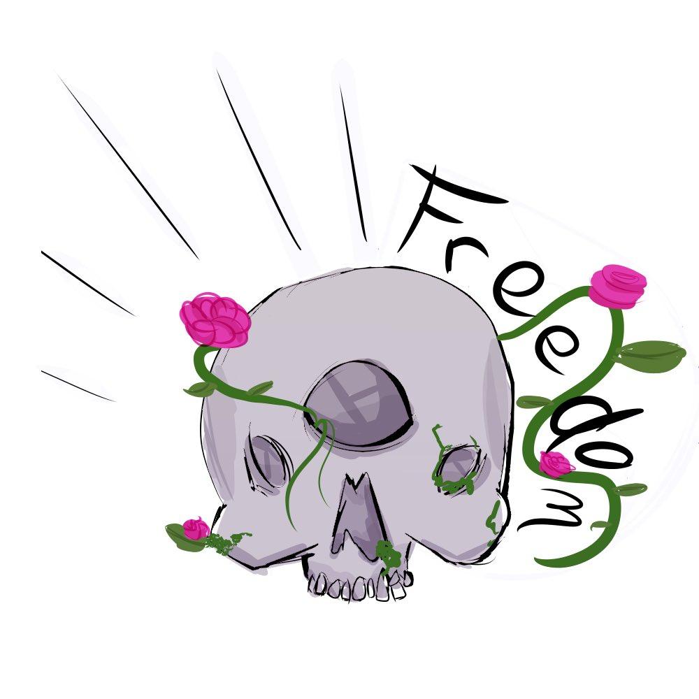 I made a skull    #draw #drawing #art #artist #artistsoninstagram #digital #digitalart #digitalillustration #digitaldrawing #digitalpainting #logo #skull #skullart #freedompic.twitter.com/Q6iULxaRun