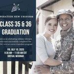 Image for the Tweet beginning: RSVP to Fridays Virtual Graduation