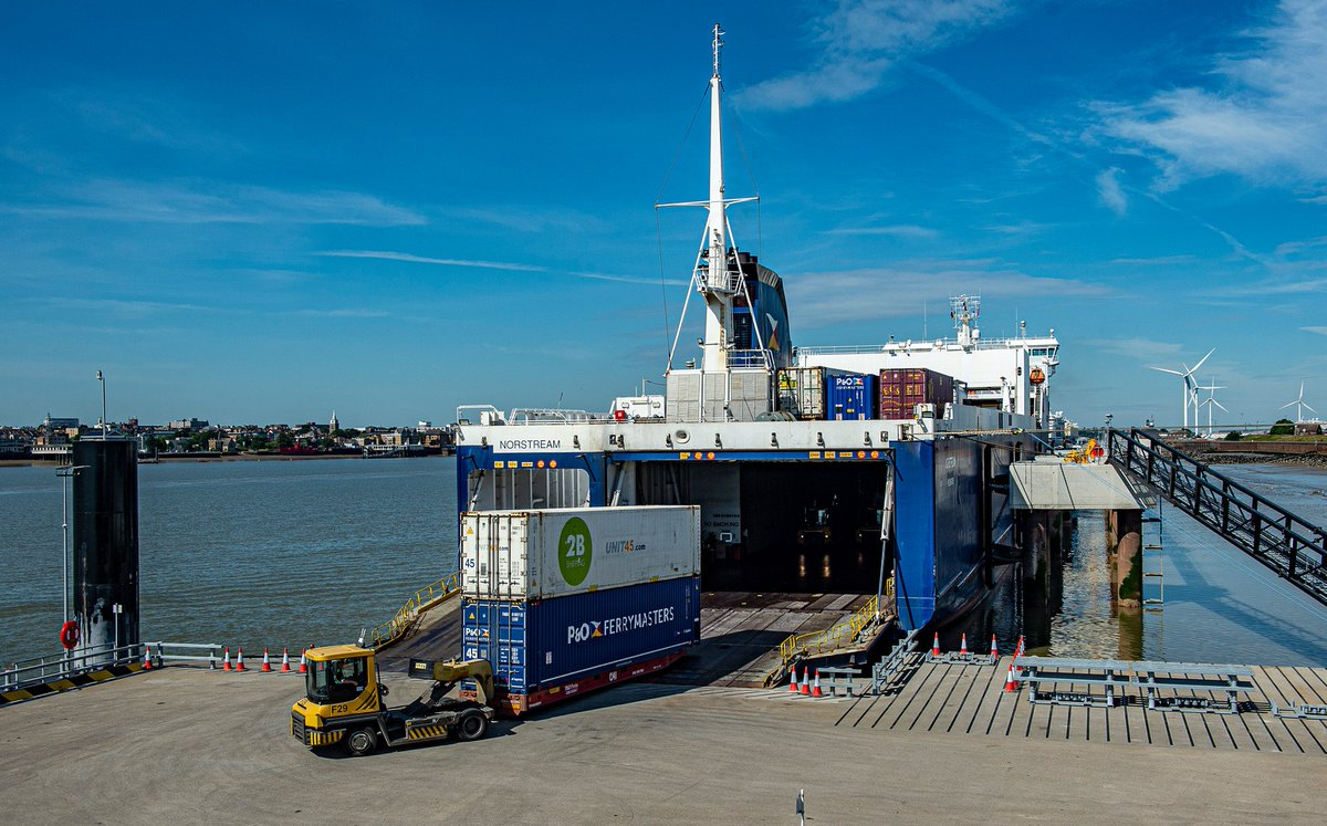 We're proud to play our part in helping maintain the essential supply of products to the UK @Forthports new London freight ferry terminal, launched during COVID-19: https://t.co/vffuGGcAzG https://t.co/oHjVx8rP0d