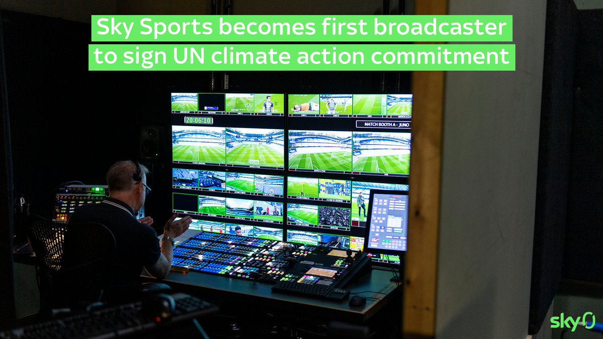 ⚽🌍@SkySports has signed the UNFCC Sports for Climate Action Framework that brings together the global sports community to combat climate change. Find out more: https://t.co/2asbF4mMa3 https://t.co/BIwp6i8Liw