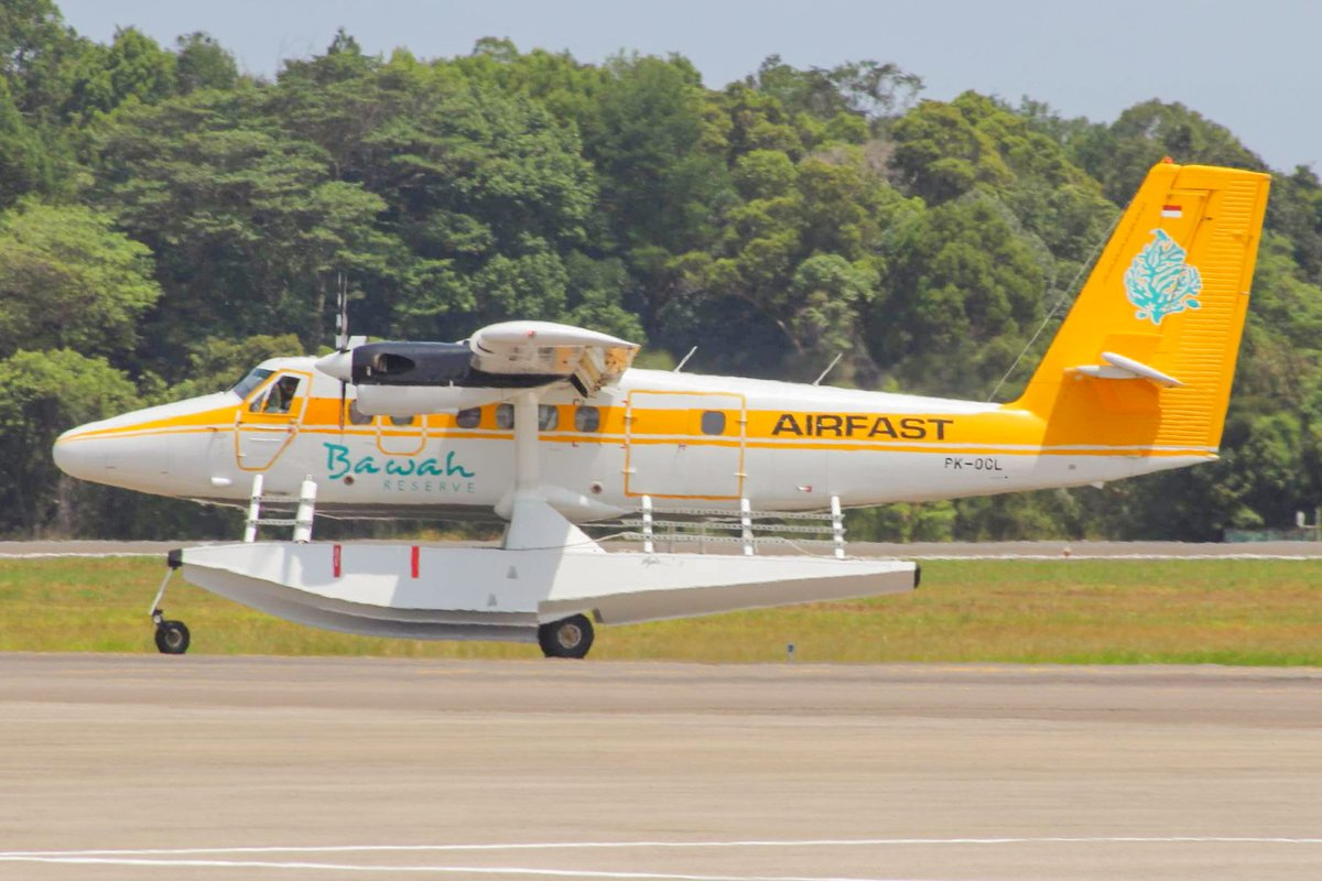 Amphibi🌊 Airfast Indonesia #PKOCL .  #AvGeek #AvgeekIndonesia #Spotters #Aviation #AviationPhotography #AviationLovers #Aviasi #IndonesiaSpotters https://t.co/kL7g6BZxoo