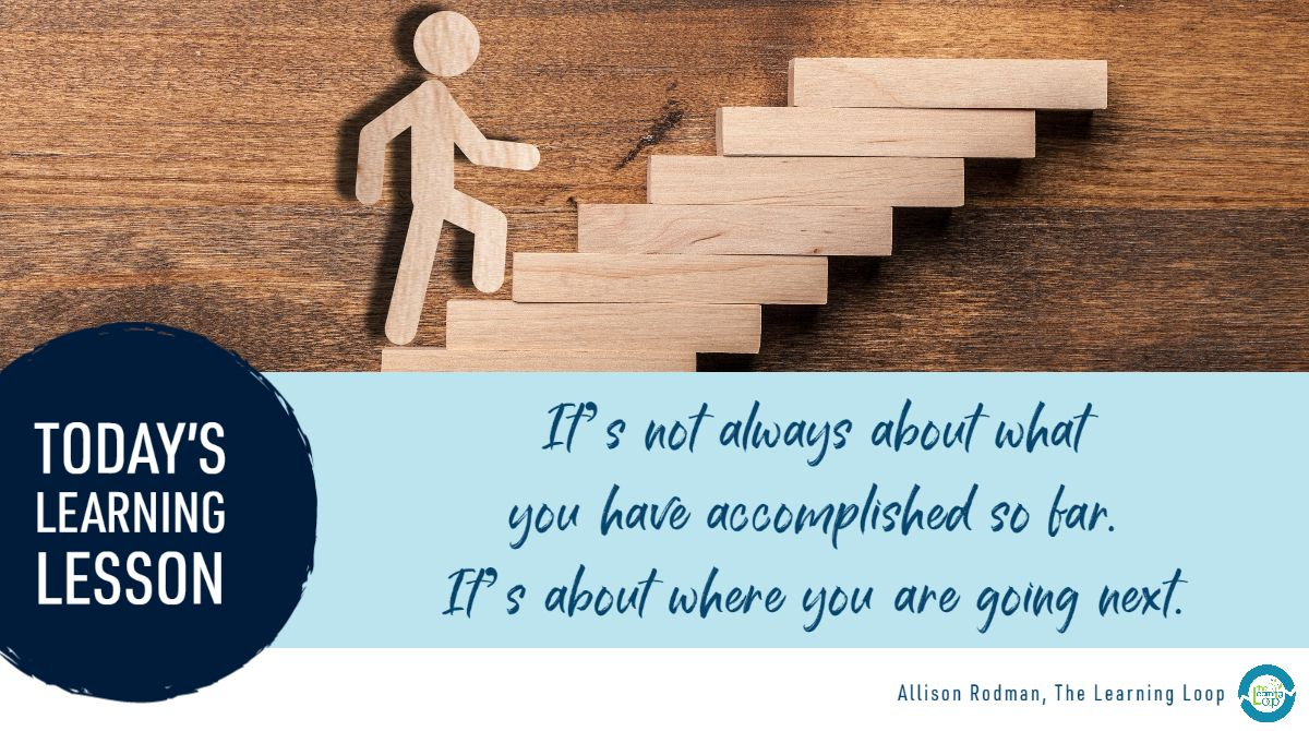 Today's #personalizedPL #LearningLesson: Making plans can be difficult when so much is unknown.  How are you embracing the unknown and pushing forward into growth? https://t.co/CAT7MA3EbI