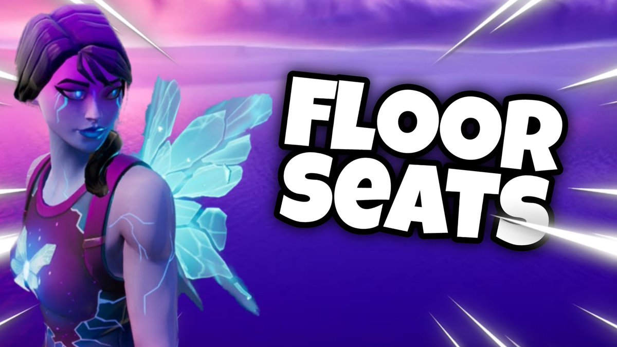 New Floor Seats montage out now ! ! #fortnite #fortnitemontage https://youtu.be/YSdA4CV01vIpic.twitter.com/H3UtGVl1Jt