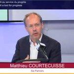 Image for the Tweet beginning: .@MCourtecuisse, Président de Syntec Conseil,