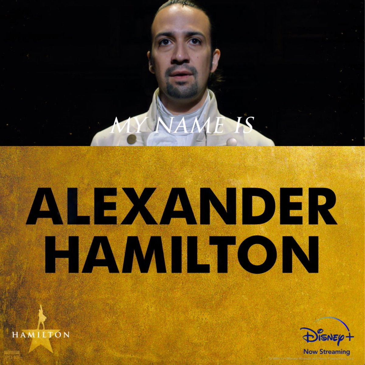 You don't have to wait any longer. Hamilton is now streaming on #DisneyPlus. ⭐️🎵 #Hamilfilm