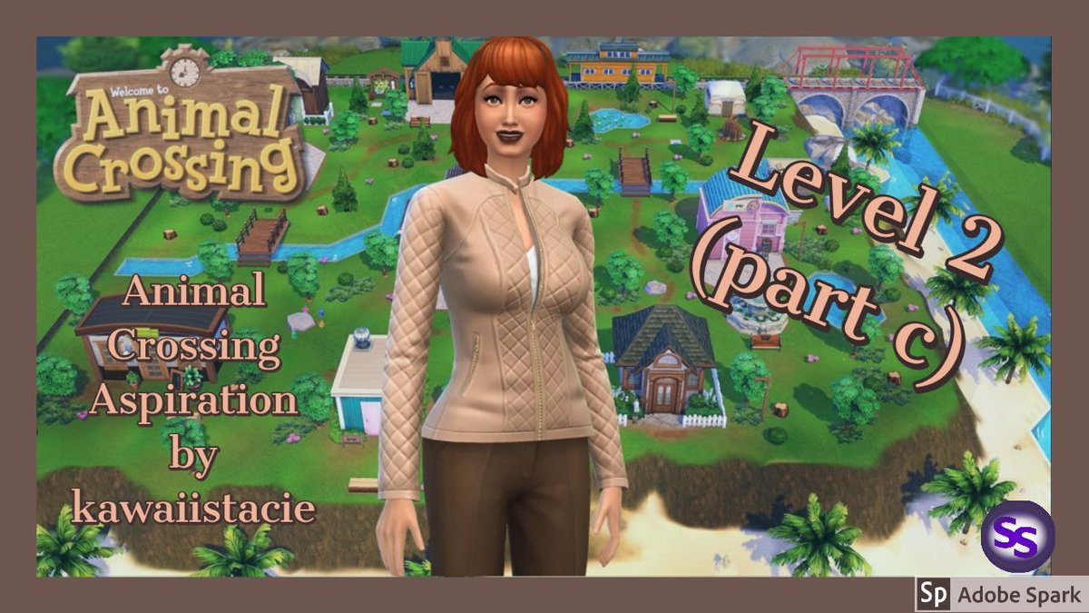 """ACNH Aspiration Mod Level 2 part c According to the modder, @KawaiiStacieYT, """"This mod gives you a little experience of island life based on the new """"Animal Crossing New Horizons"""" game."""" Today, we finish level 2 of the aspiration. https://buff.ly/2Z1YrHvpic.twitter.com/8hivwOOK3j"""