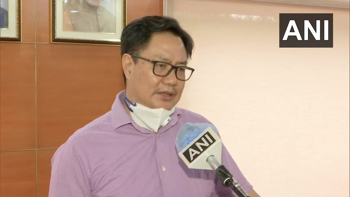 Indian&foreign coaches will be hired on a contractual basis of 4 yrs keeping in mind with the Olympic Games. We've also removed a salary cap of Rs 2 lakh for Indian coaches. These decisions will bring stability in coaching&training : Union Sports Minister Kiren Rijiju https://t.co/rd4nrgn8Cs