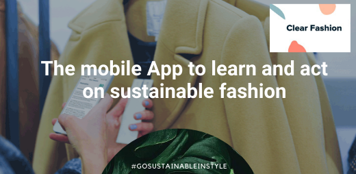 What is behind the clothes you buy?  The @clearfashionapp will help you discover and act more on Sustainable fashion https://soo.nr/AHg3 #modeecoresponsable #moderesponsable pic.twitter.com/J94udQNXi6
