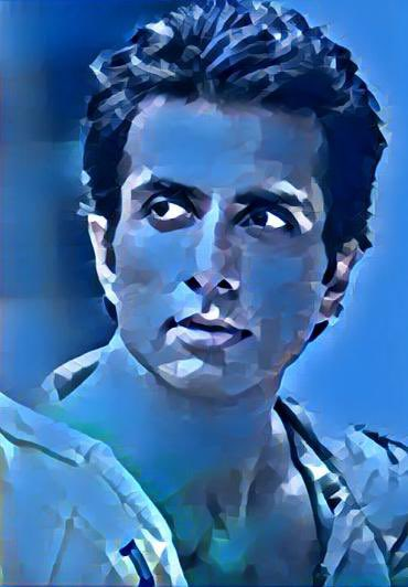 @SonuSood you are a very rare diamond, a priceless one who can enlighten any dark frontier💎 💎. My small piece of gesture for the big deeds which you have so selflessly done for the loving people of our beloved country. 😊#Sonu_Sood #myartwork #arts https://t.co/9eYrToBq8d