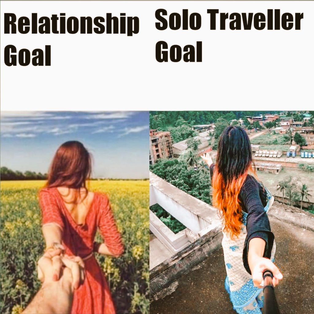 Both are #Beautiful..!! What you like..!!?  #sololeveling & #Travelwithpartner  pic.twitter.com/Y53inroLT2