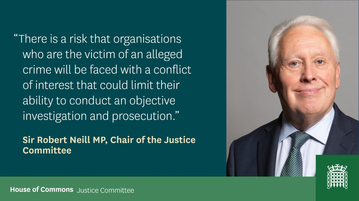 Tomorrow we will examine safeguards for private prosecutions brought by organisations who are the victim, investigator and prosecutor.   @ccrcupdate asked us to look into the subject after referring 47 Post Office cases for appeal.   Find out more 👇