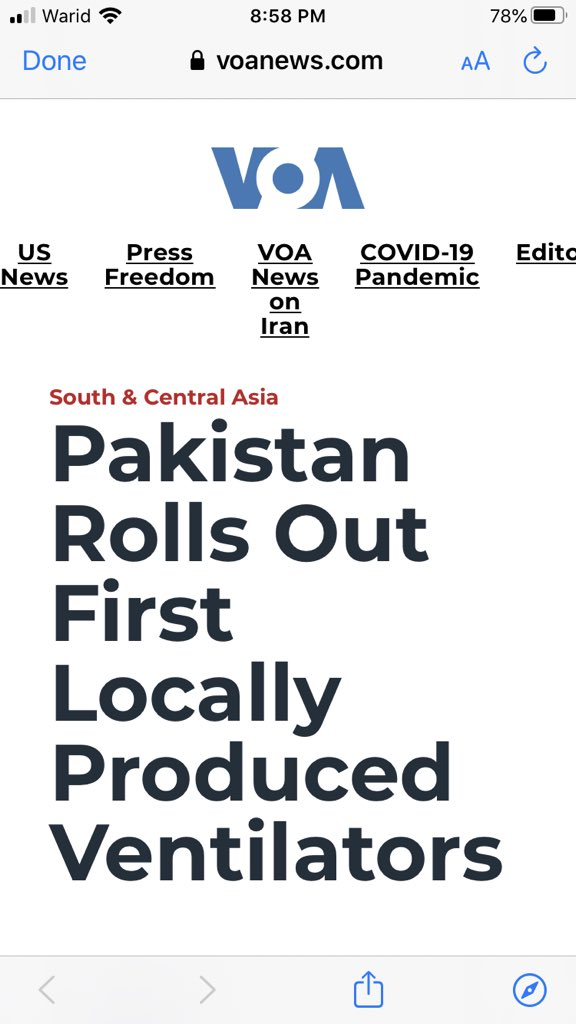 A proud moment:   آج دنیا کے اخباروں میں پاکستان کی ایسی خبریں آتی ہیں۔ شاباش فواد چوہدری۔ شاباش خان صاحب۔  @fawadchaudhry @ImranKhanPTI #PTIGovernment #WHO https://t.co/wI7NXMItGF