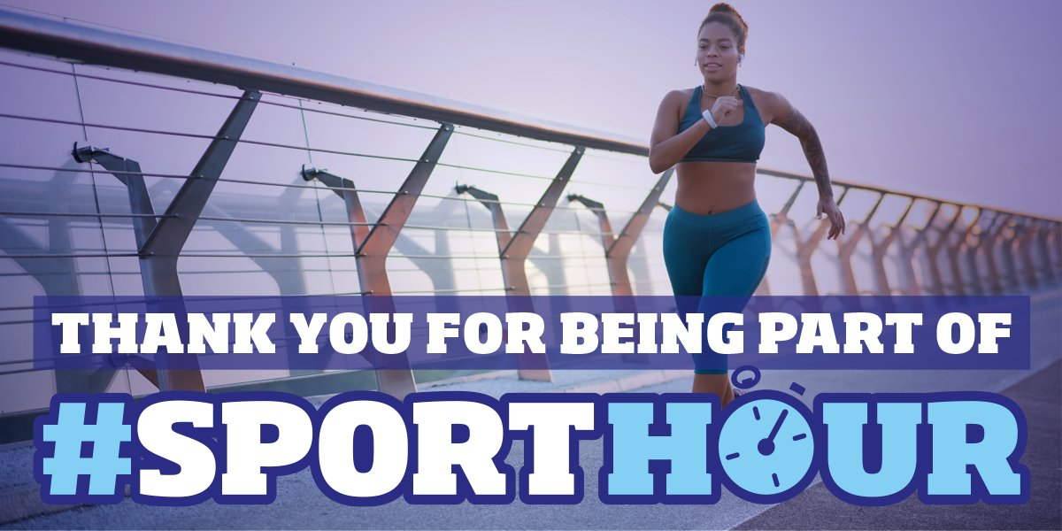 That's a wrap on this month's #SportHour!  A big thank you to everyone who joined us, and of course our fab co-hosts @JudyMurray @RianHarveyYPSP 👋  #SportHour will be back again on Monday 3 August, see you then! https://t.co/39h2HAJMIN