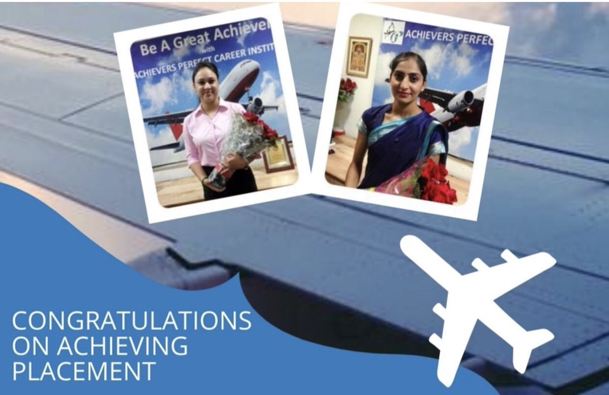 Many students have been placed successfully working  in Domestic and International airlines & Hospitality #mondaythoughts  #flightattendant #cabincrew #aviation #crewlife #stewardess #flightattendantlife #crew #aviationlovers #travel #boeing #flight #airhostess #bhfyp https://t.co/4qWxGFoGwF