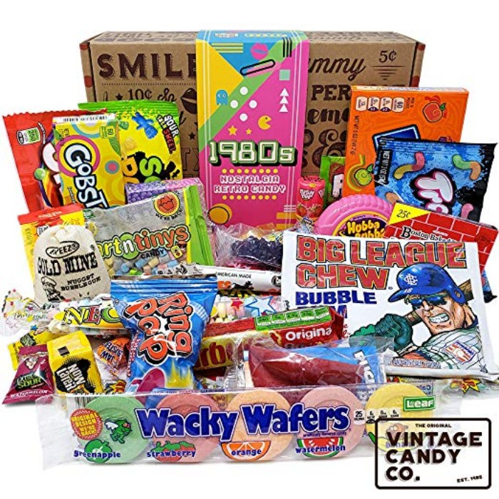 Enter To Win A 1980s Retro Candy Gift Box shrsl.com/2dbr4! Includes over 57 pieces in a fun keepsake box! ARV: $39.99 (or winner can opt to receive a $40 Amazon gift card) One Time Entry. Expires July 31, 2020. U.S. Only. #ad